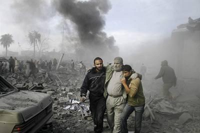 Izrael třetím dnem útočí v Gaze, 315 obětí